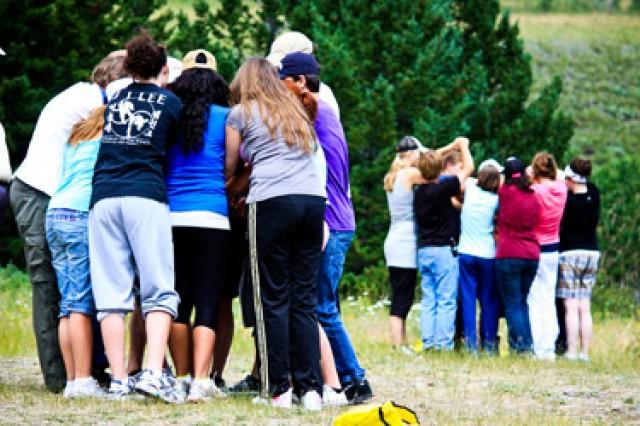 lions waterton leadership camp team strategy