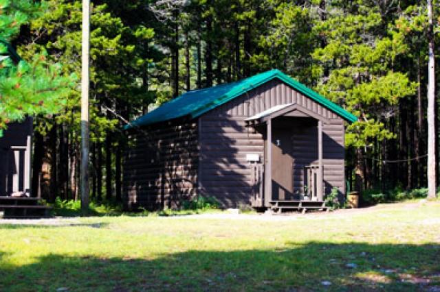 lions waterton leadership camp cabins