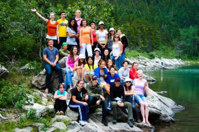 lions waterton leadership camp group shot