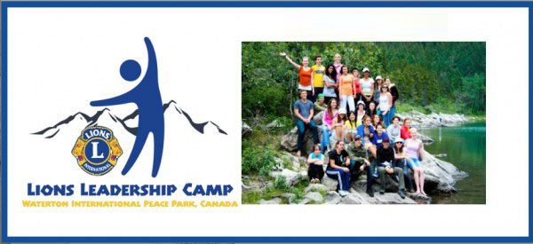 Lions Waterton Leadership Camp